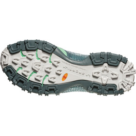 La Sportiva Bushido Running Shoes Women Slate/Jade Green